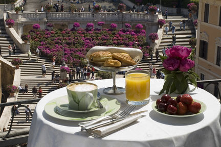 Inn At The Spanish Steps, Rome, Italy, picture 4